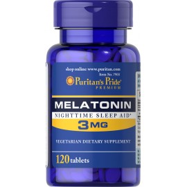 Melatonina 3 mg / 120 tab